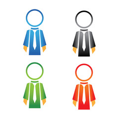 Salesman icons