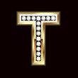 T bling letter