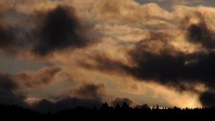 Dark Clouds Timelapse