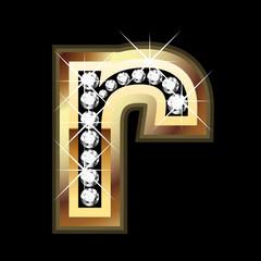 r bling letter