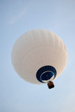 White Hot Air Balloon.