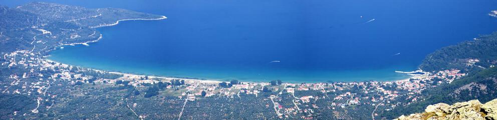 Sea view. Thassos, Greece