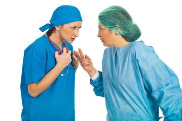 Doctors women conflict