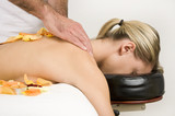 Wellness women massage