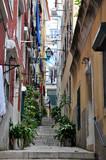 Fototapety Ruelle de l'Alfama à Lisbonne, Portugal