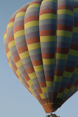 Hot Air Balloon detail at dawn - taken in Goreme, Cappadocia