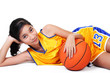 lady basketball player