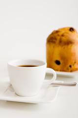 Espresso und Panettone