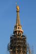 restauro 2011 - guglia Madonnina del Duomo di Milano