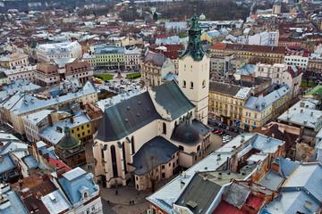 catholic cathedral in Ukraine
