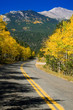 Autumn Rural Mountain Road