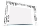 Large blank screen