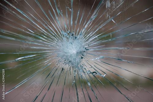 Fototapeta Vidrio roto