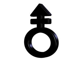 Mann und Frau Symbol