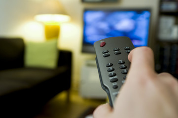 Télécommande zapper chaînes TV