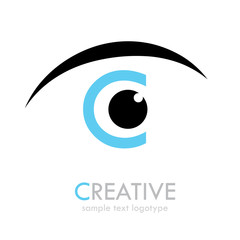 Logo letter C Creative # Vector