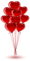 Balloon Hearts