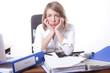 Businesswomen in stress