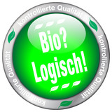 Bio Button mit Details