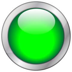 Button blanko grün