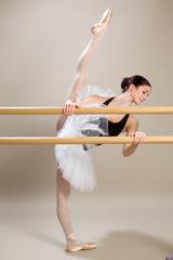 ballerina alla sbarra