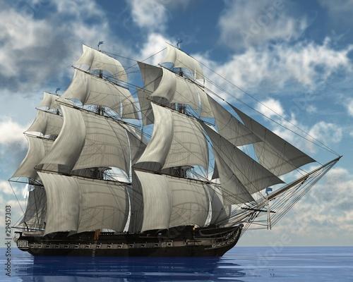 ship in the ocean - 29457303