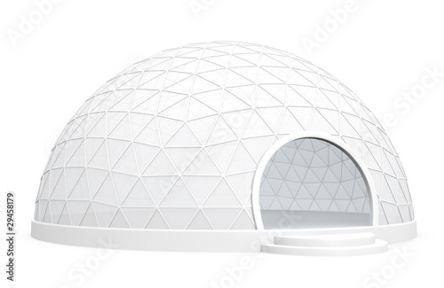 Exhibition dome tent - 29458179