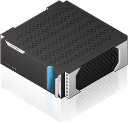 Medium Size Server Rack Module