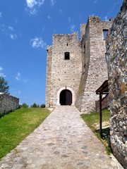 Entrance to The Strecno Castle