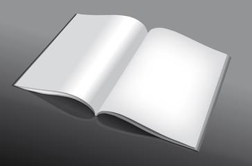 libro aperto vettoriale