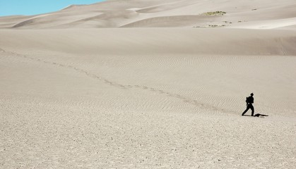 Hiking in the Great Dunes