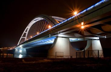 Apollo Bridge in Bratislava