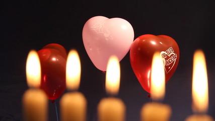 свечи и шары