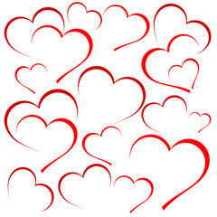 Saint Valentine Background # Vector