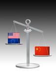 China versus den Westen poster
