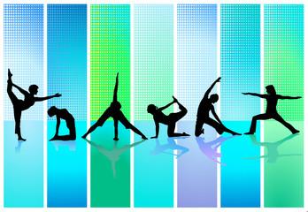 6 x  Gymnastisch