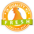 quality chicken meat sign