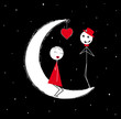 love on moon