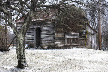 Dusted Cabin