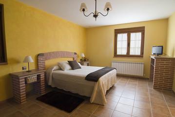 Dormitorio acogedor.