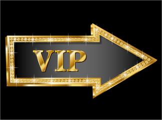 VIP vector arrow
