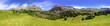 Постер, плакат: Bisaurin peak Pyrenees panoramic scenics Huesca