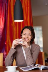 gemütlich kaffee trinken zu hause