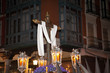Holy Cross in Semana Santa procession in Valladolid, Spain