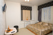 Hotel accommodation with a double bed