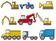 cartoon truck icon