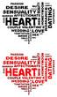 Text hearts