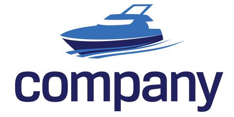Yacht logo: luxury lifestyle