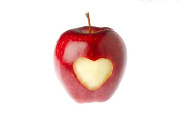 Mela cuore