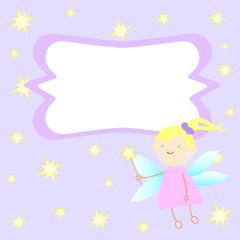Fairy Tail Princess Invitation card